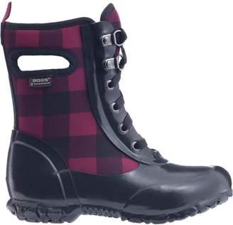 Bogs Sidney Lace Buffalo Plaid Boot - Girls'