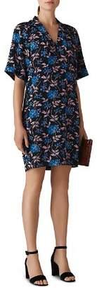 Whistles Devyn Elderberry Dress
