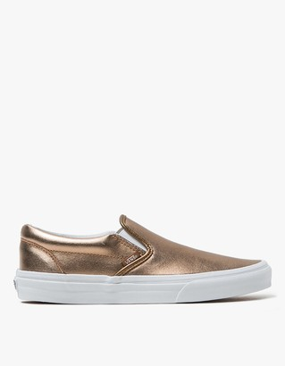 Classic Slip-On in Rose Gold $60 thestylecure.com