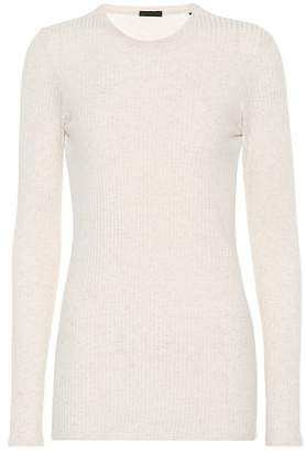 ATM Anthony Thomas Melillo Ribbed-knit jersey top