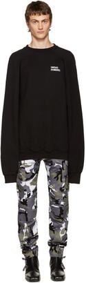 Vetements Black Oversized 'Unidad Hombres' Pullover $750 thestylecure.com