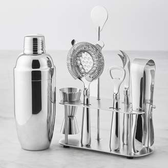 Williams-Sonoma Williams Sonoma Insulated Cocktail Shaker & Stainless Steel Bar Tool Set with Stand