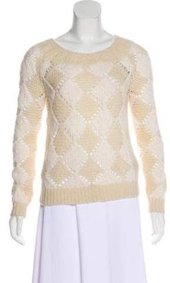Marc by Marc Jacobs Patterned Wool-Blend Sweater