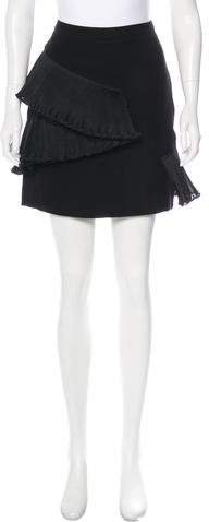 Opening Ceremony Ruffle-Accented Mini Skirt w/ Tags