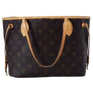 Louis Vuitton Neverfull leather tote