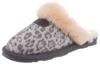 BearPaw Slippers Womens Loki Scuffs Sheepskin 10 671W