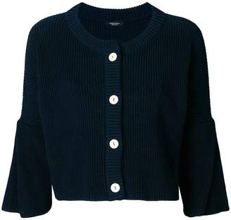 Roberto Collina cropped button cardigan