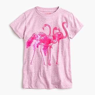 J.Crew Girls' flamingo T-shirt