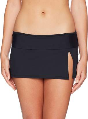 Bleu Rod Beattie Bleu | Rod Beattie Women's Skirted Hipster Bikini Bottom