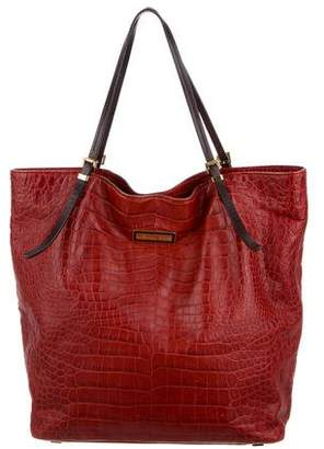 Michael Kors Embossed Leather Tote