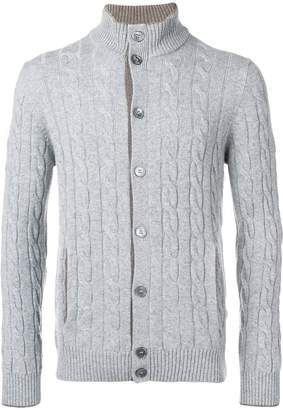 Barba button up cardigan