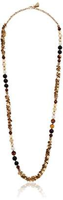"""lonna & lilly Worn Gold/ 36"""" Strand Necklace"""