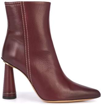 Jacquemus structured mid-heel ankle boots