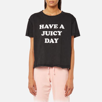 Juicy Couture Women's Juicy By Juicy Have A Juicy Day T-Shirt