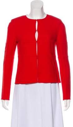 Armani Collezioni Scoop Neck Evening Jacket