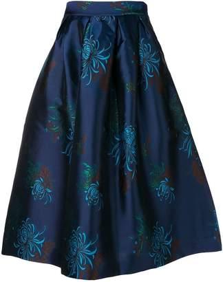 P.A.R.O.S.H. high-waisted full skirt