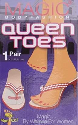 Magic Body Fashion Magic Bodyfashion Women's Queen Toes Ankle Socks