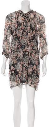 Joie Printed Mini Dress