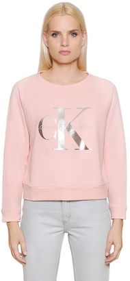 True Icon Cotton Sweatshirt $120 thestylecure.com