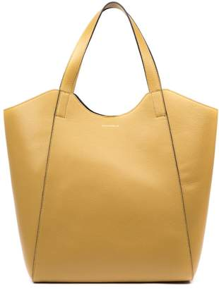 Coccinelle Mistral Camel Leather Tote
