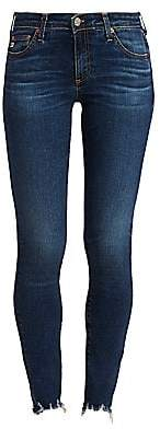 AG Jeans Women's Distressed Legging Ankle Skinny Jeans