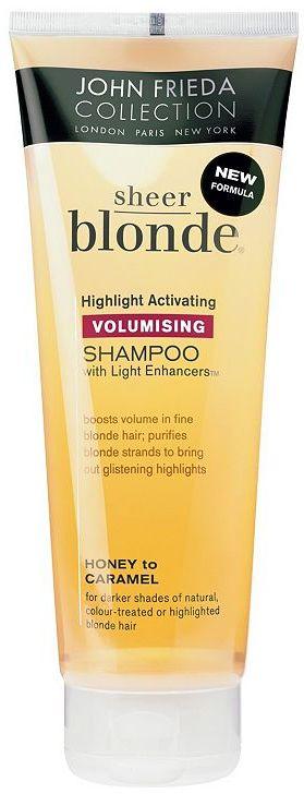 John Frieda Sheer Blonde Volumising Shampoo Honey to Caramel