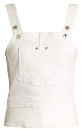 Eve Denim - Clara Stretch Denim Top - Womens - White