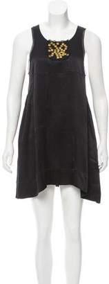 Joseph Embellished Silk Dress
