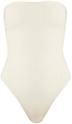 Marysia Swim Adelaide reversible strapless swimsuit