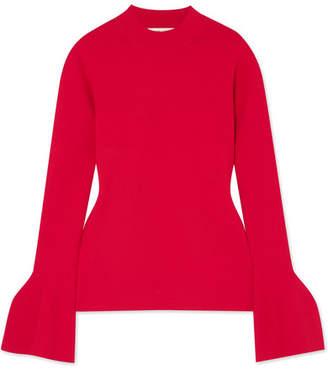 Diane von Furstenberg Stretch-knit Top - Red
