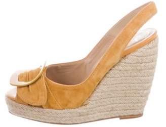 Roger Vivier Slingback Wedge Sandals Slingback Wedge Sandals