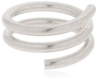 Maison Margiela Silver Spiral Ring