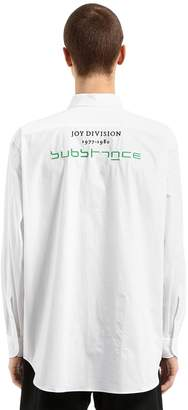 Raf Simons Joy Division Substance Poplin Shirt