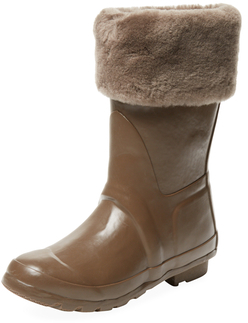 Australia Luxe Collective Dukes Rubber & Shearling Boot