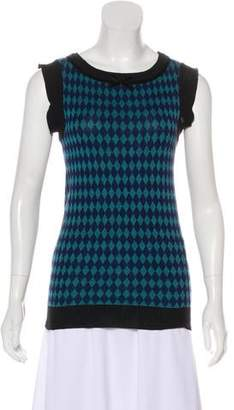 Anna Sui Sleeveless Knit Top