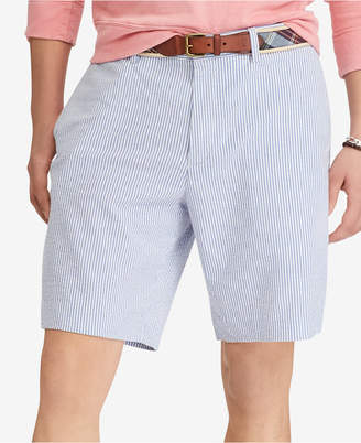 "Polo Ralph Lauren Men's Seersucker Stretch Classic Fit 9-1/4"" Shorts"