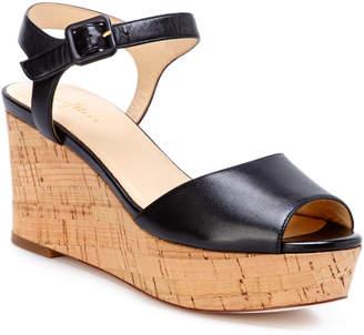 Cole Haan Gillian Leather Wedge Sandal