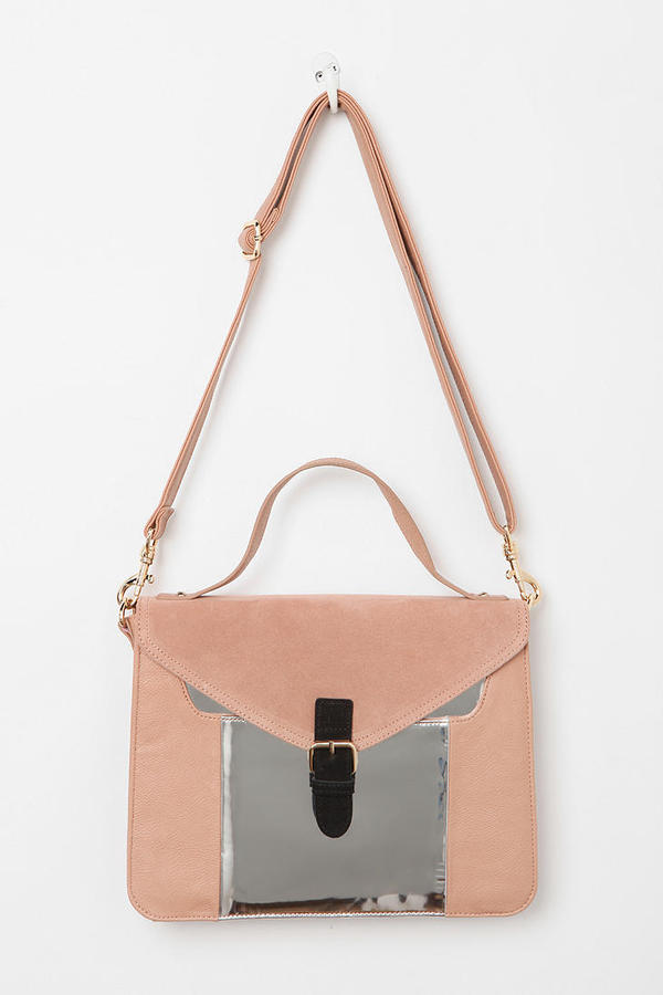 Urban Outfitters Cooperative Structured Colorblock Satchel