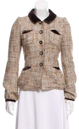 Marc Jacobs Metallic Tweed Blazer