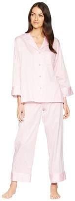 Natori Leopard Long Sleeve Notch PJ Women's Pajama Sets