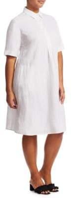 Marina Rinaldi Marina Rinaldi, Plus Size Dedalo Shirtdress