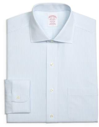 Brooks Brothers Regular Fit Stripe Dress Shirt