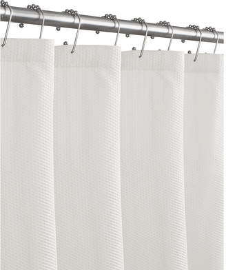 Maytex Mills Microfiber Textured Shower Curtain Liner