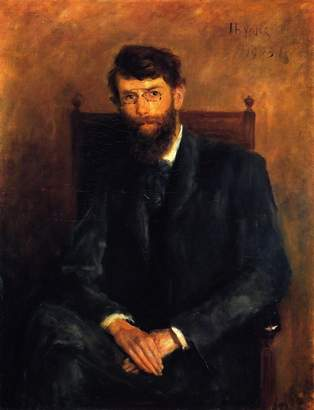"3.1 Phillip Lim ODSAN George William Russell (A.E.) - By John Butler Yeats - Canvas Prints 24"" by Unframed"