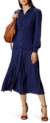 KAREN MILLEN Midi Shirt Dress $470 thestylecure.com