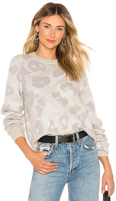 Rag & Bone Leopard Crew Sweater