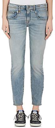 R 13 Women's Boy Skinny Jeans - Lt. Blue