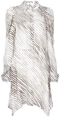 See by Chloe striped shirt dress