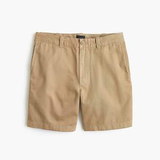 "J.Crew 7"" Short In Garment-Dyed Tan Cotton"