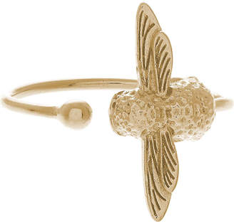 Olivia Burton Moulded bee gold ring